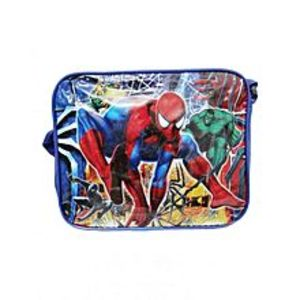 Telemall Spiderman School Bag for Boys - Blue
