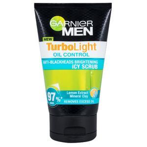 Garnier Men Turbolight Oil Control Icy Scrub -100 ml