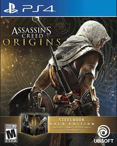 Assassin's Creed Origins: Steelbook Gold Edition - PlayStation 4