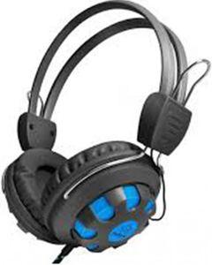 Audionic Max60 - On-Ear Headphones - Black & Blue
