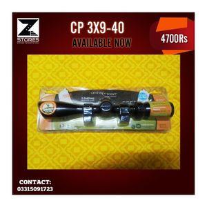 Centrum Center Point 3 X 9 40 Airgun Scope - Black