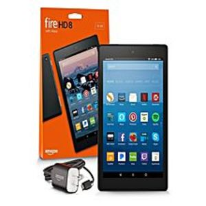 AmazonFire HD 8 Tablet kindle with Alexa, 7th generation 16 GB, Black with promotional offers