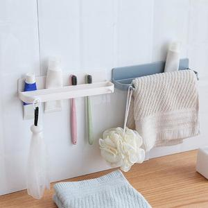 Japanese-style wall-mounted shoe rack stereo slippers shelf #J