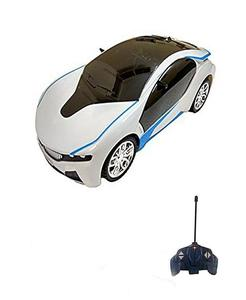 Rc Car With Led Lights - White