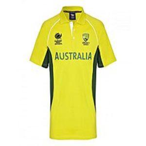 Hafiz SportsAustralia Cricket Team Shirt - Yellow