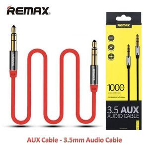 Remax RL-L200 3.5mm Plug Aux Stereo Audio 200cm Connects Devices Cable - Red