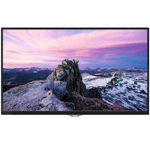 "AKIRA 55MU007 55"" 4K UHD LED TV with Built-in Soundbar - Glossy Black"