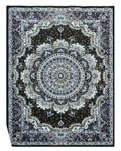 Silky Traditional Rug - Synthetic - 4X6 - Blue