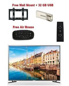 """32"""" Led Full Hd Android Smart Tv With Free Wall Mount+32 Gb Usb+Air Mouse"""