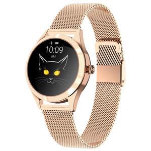 KW10 Ladies Smart Sports Watch Bracelet Round Screen Smart Monitoring Watch