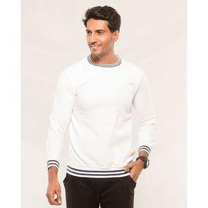Styleo White Sweat shirt for men