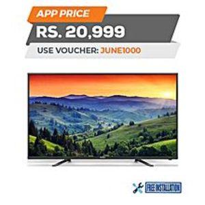 """HaierHD LED TV - 32"""" - Black"""