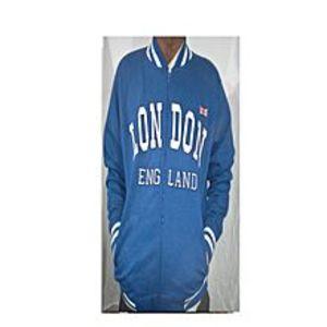 ModernStylishStoreLondon England Baseball Jacket Varsity Jacket.