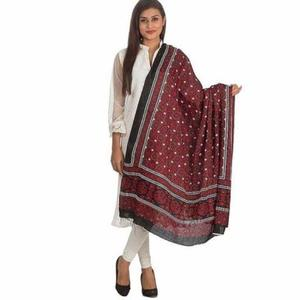 Multicolor Sindhi Ajrak For Women - FA01