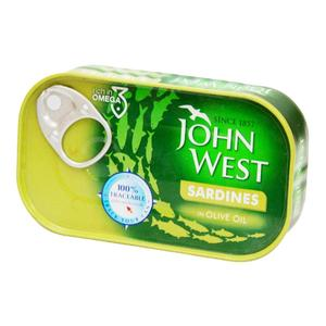 John West Sardines In Olive Oil 120 gm