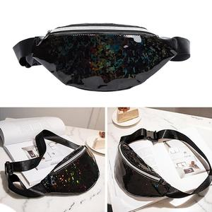 Colorful Sequined Ladies Waist Bag Sweet Lady Fashionable Shoulder Chest Bag