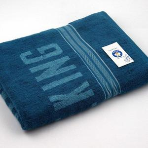 Alkaram Towel 1 - Terry Jacquard Bath Sheet Turquoise