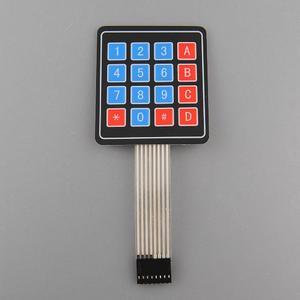 4 x 4 Array 16 Key Membrane Switch Keypad Keyboard Fit for Arduino 1PCS