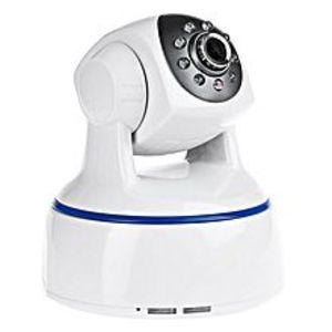 iShow Plus 624GA 1080P 4.2MM Wireless Night Vision IP Indoor Security Camera With Two-Way Audio - White
