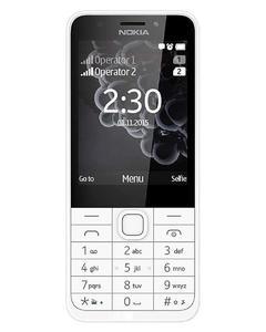 Nokia 230 - 6MB Ram - 230 - Silver