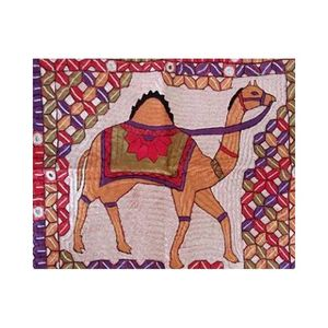 MerkaKraft Traditional Wall Hanging - CAMELHand Made-Multi Color