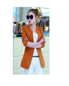Women Stylish O-Neck Trench Outerwear Long Coat