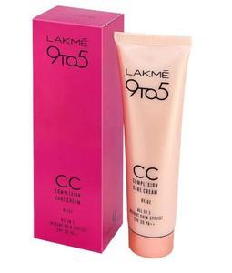 ORIGINAL LAKME CC Cream and Foundation-Beige shade for all skin types