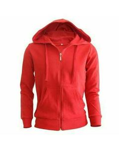 RED STYLISH HOODIE FOR MEN