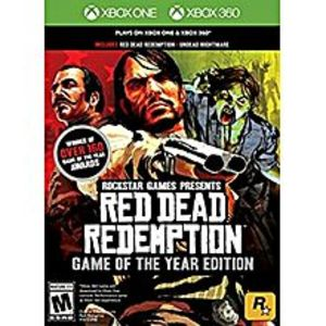 Microsoft Red Dead Redemption: Game of the Year  - Xbox One & Xbox 360