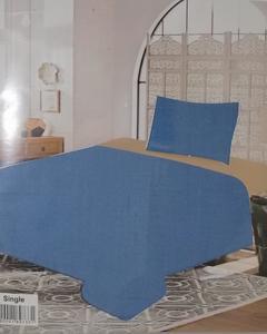 Plain Cotton Single Bed Sheet