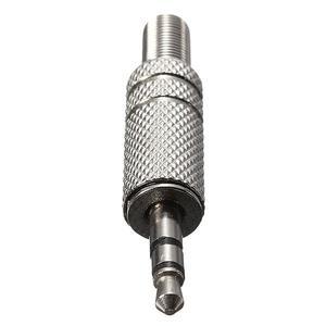 3.5mm 3 Pole Earphone/Headphone Replacement Audio Jack Plug Soldering Connector