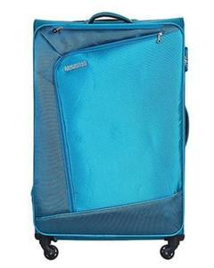 Vienna Spinner Suitcase 55cm - Teal Blue
