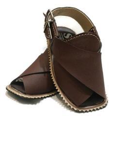 Baby'S Brown Peshawari Sandals