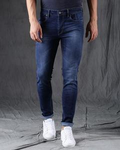 Navy Blue Denim Jeans For Men - Ydj-Nb1