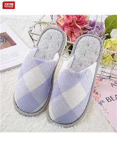 High Quality Super Soft Comfortable Slipper- Size:37/38-Blue
