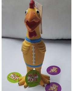 Squawking Screaming Shrilling Chicken - Fun Toy - For Dog