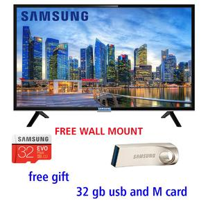 UHD 4K 43 INCH LED FLAT TV NU5300 WITH 2 YEARS WARRANTY AND FREE 32 GB USB AND WALL MOUNT