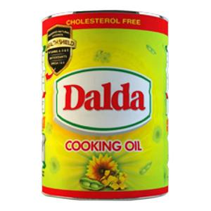 Dalda Cooking Oil Tin 2.5 ltr