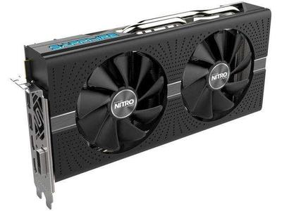 Sapphire Nitro+ RX 580 8GB GDDR5 Dual HDMI / DVI-D / Dual DP with Backplate (UEFI) PCI-E Graphics Card
