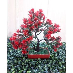 Artificial Tree Decoration Piece - Red