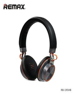 195Hb - Bluetooth Headphone With Microphone - Black