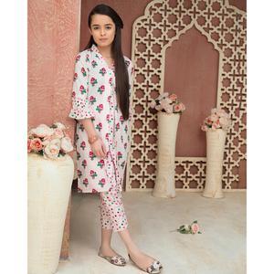SITARA STUDIO Sapna Collection 2019 Multicolor Lawn 2PC Unstitched Suit For Women - 6141 A