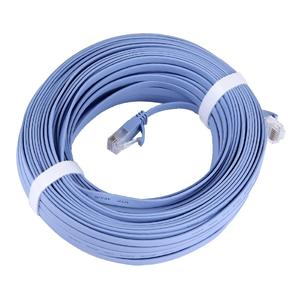 CAT6 Ultra-thin Flat Ethernet Network LAN Cable, Length: 30m(Blue)