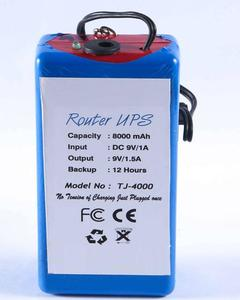 Power Bank For Wifi Routers - Ups For Wiffi Routers
