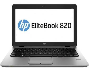 HP Refurbished Elitebook 820 G1 - 4th Gen Ci5 04Gb 500GB HDD 12.5  HD 720p Backlit KB FP Reader VGA-Port