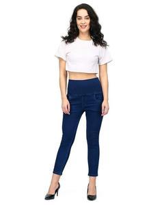 Blue Denim Slim Fit Jeans For Women