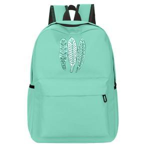 Girl Oxford Cloth School Bag Printing Backpack Satchel Women Trave Shoulder Bag