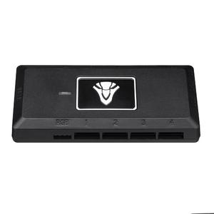 Intelligence  Geek P1 Cooling Fan RGB Light Effect Controller Control Box Support AURA SYNC