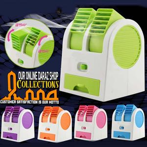 Mini USB Portable Air Conditioner Air Cooling Fan Air Cooler Fan for Office Home - Multicolor