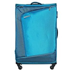 American TouristerVienna Spinner Suitcase 66cm - Teal Blue